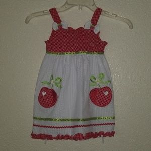 Toddlers cherry dress!